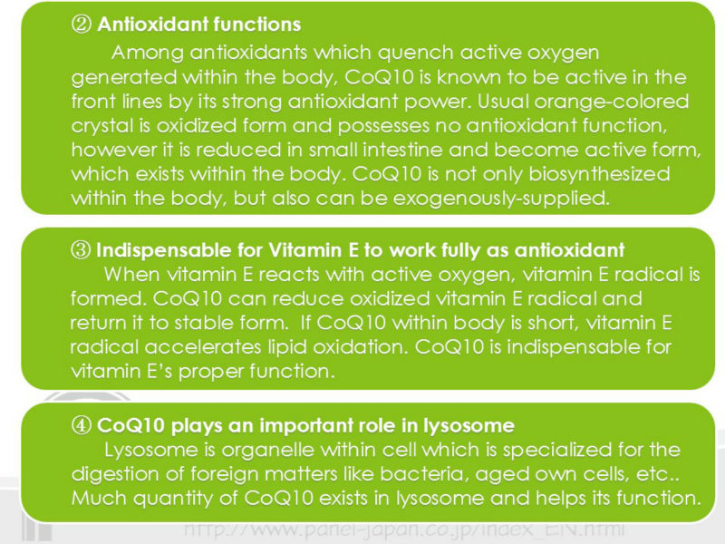 Coenzyme Q10 Powder As Antioxidant For Health Foods For Energy Production, Beauty Care, Prevention of Active Oxygen
