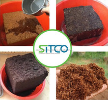COIR FIBRE DUST BRIQUETTES/BLOCKS/BRICKS
