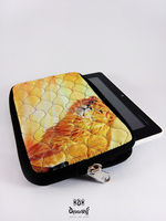 Computer Quilted Digital print Lion Tablet Sleeves