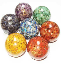 Chakra Orgone Ball Set | orgonite spiritual balls | khambhat supplier