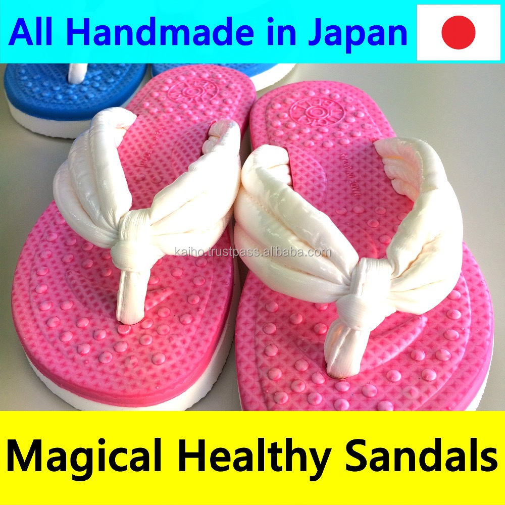 Japanese all handmade healthy magical amazing high quality fashion flat summer sandals 2016 for women