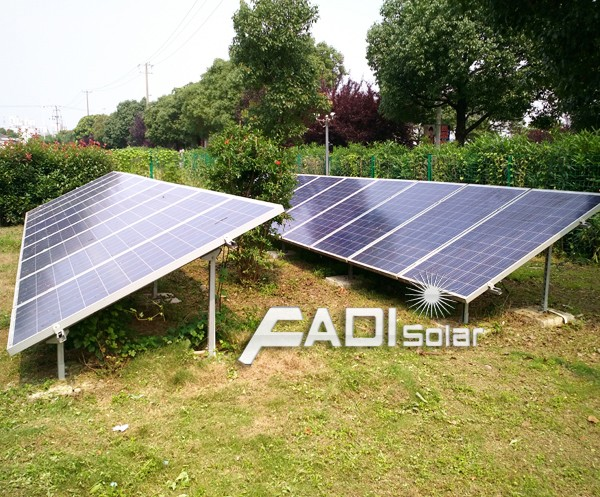 6KW On Grid Tie Solar Power System Home, Solar Kit System (FD-ON/PSS-6KW)