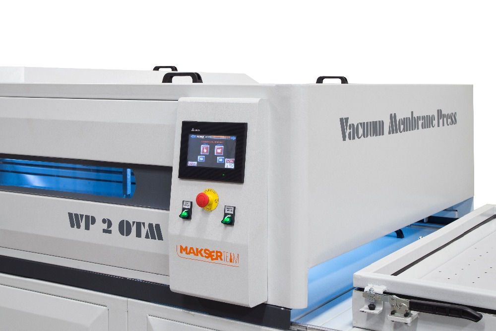 Vacuum Membrane Press Machine WP2 OTM most professional for serial production /MAKSERTEAM vacuum membrane with surface cooling