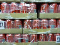 Cola , pepsi , Fanta. 7up in 330ml cans and 1.5L pet bottles