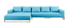 modern colorful fabric outdoor garden sofa - Tedo