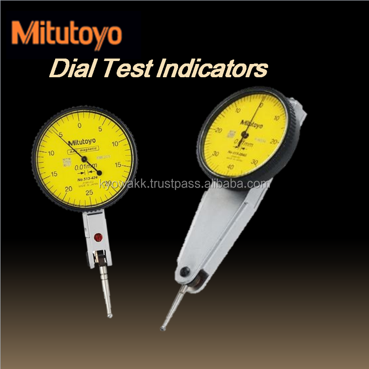 Wide range of compact type dial test indicator distance gauge with excellent durability