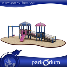 ENO-110 Disabled play groups disabled outdoor playground systems and equipments
