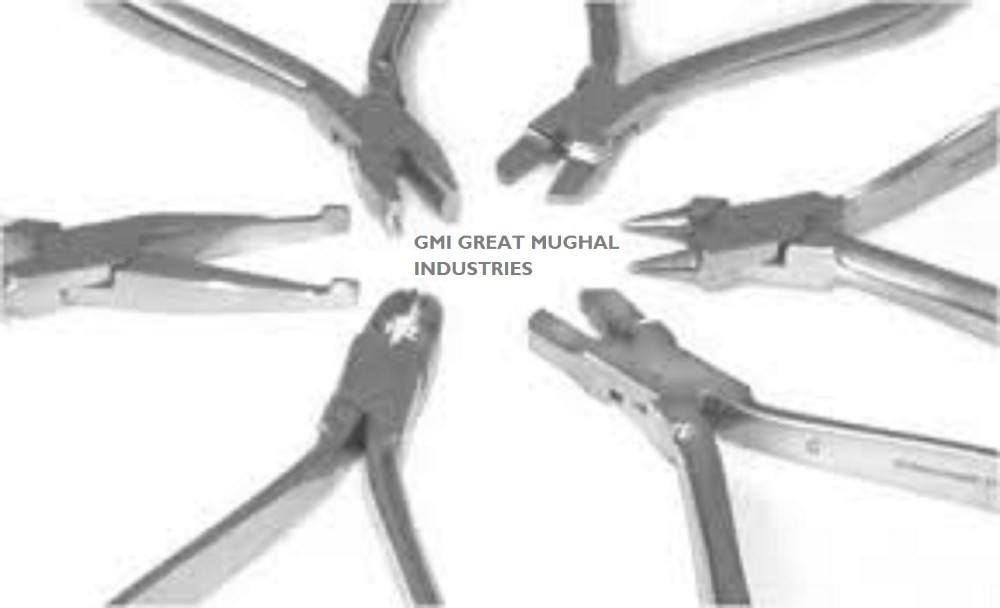 Distal End Cutter Pliers High quality orthodontic Flat nose Wire Bending Twisting dental instruments GM890