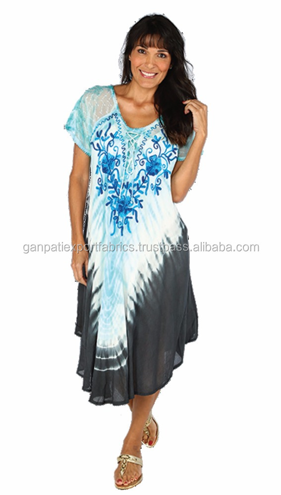 New Fashionable Woman Wear Rayon Umbrella Dress