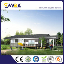 (WAS3507-122D)Prefabricated Modular Building Homes/Home Of Steel Structure Frame