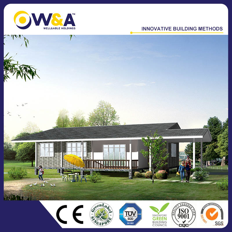 (WAS3507-122D)Prefabricated Modular Building Houses Container House of Steel Structure Frame