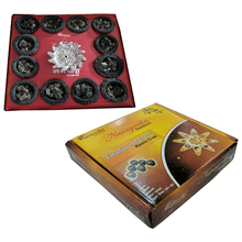 Aromatika Frankincense incense resin cup with holder sambrani cup