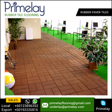 Gym Rubber Paver / Playground Rubber Paver / Safety Rubber Paver Tiles