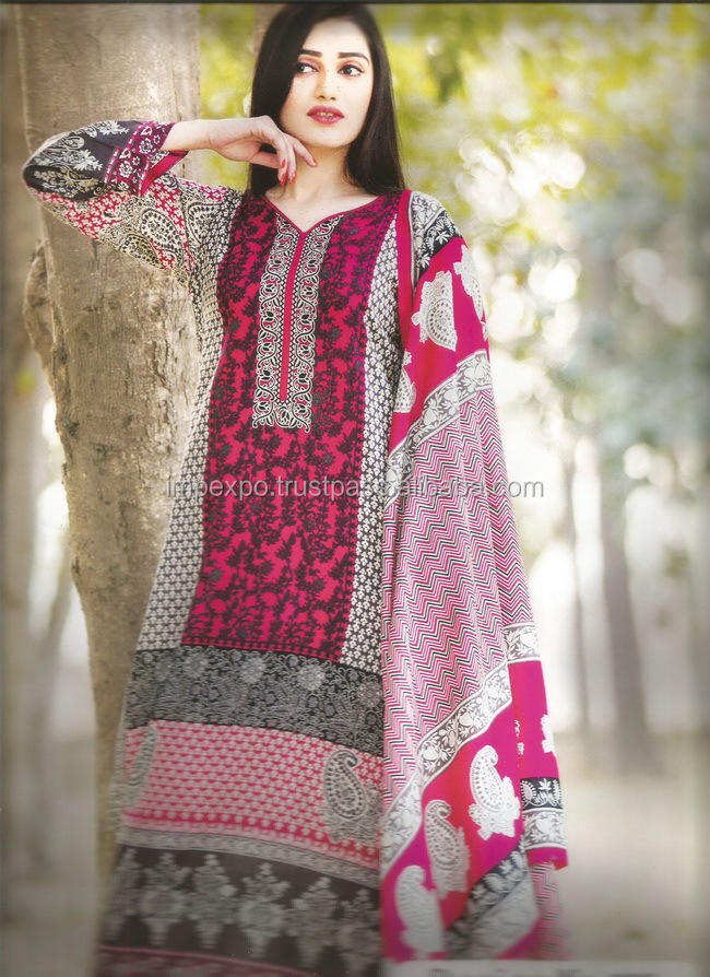 Punjabi suit design picture / Ladies readymade suits in Lahore