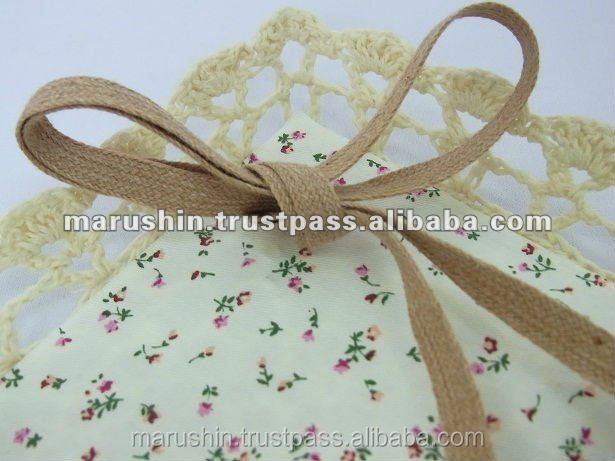 High quality and Fashionable organic ribbon for ornaments of child clothes.