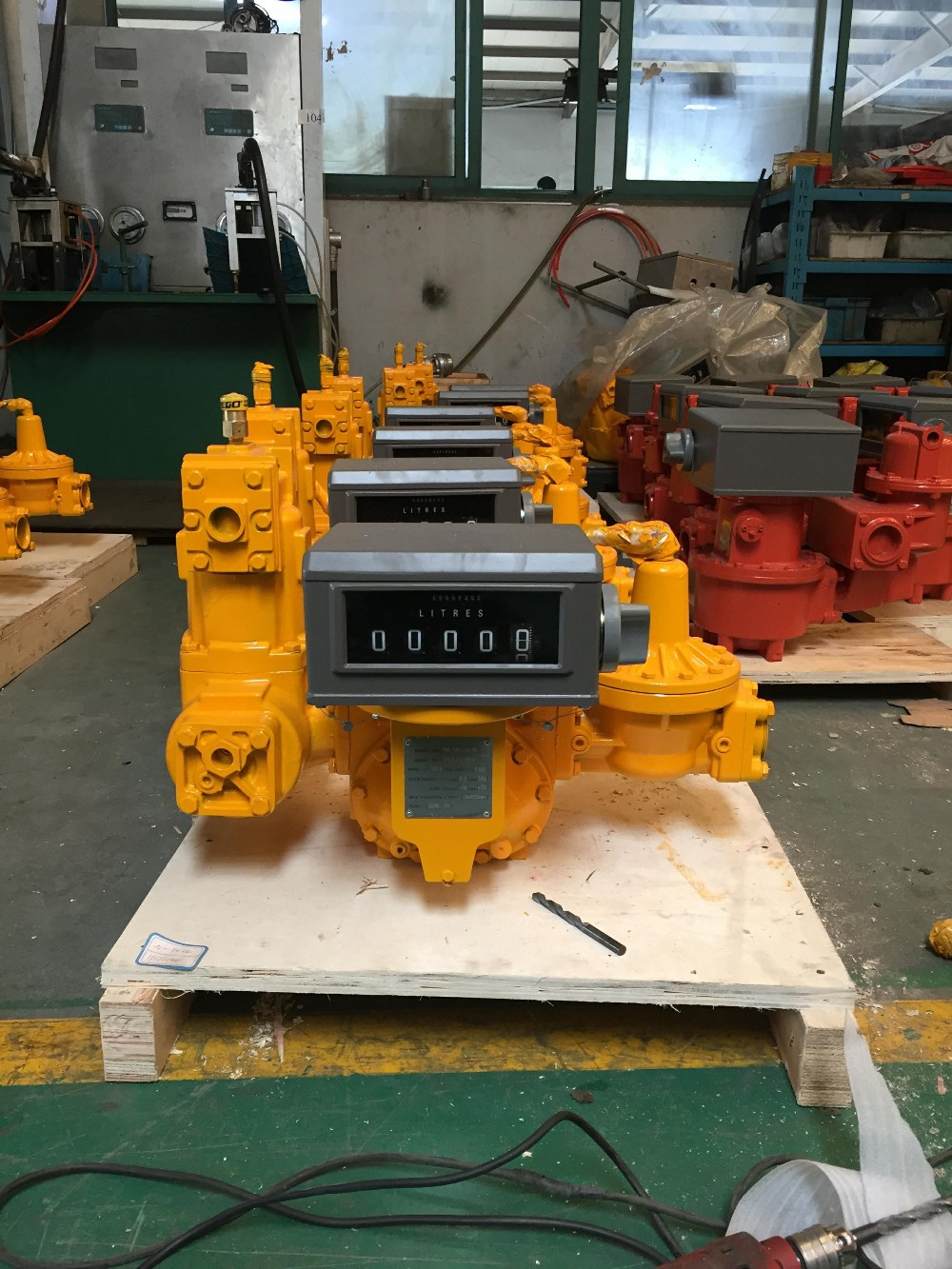 LPG gas flow meter (load unload lpg gas flow meter )