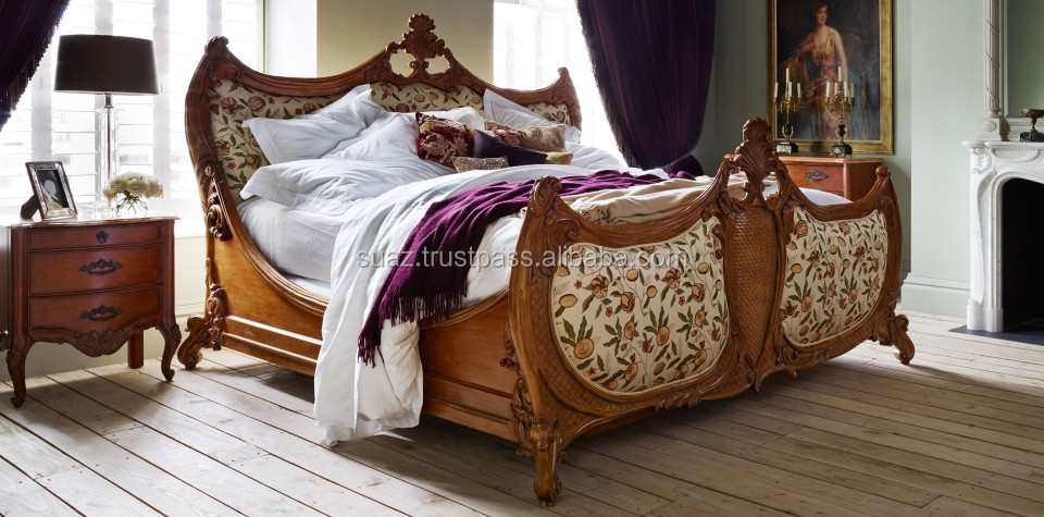 Wooden double bed price , solid wood bedroom sets , Pakistani Furniture , Chinioti Wooden bed , wooden carved Furniture Exporter