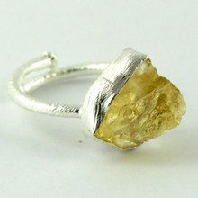 California Style !! Citrine 925 Sterling Silver Ring, Silver Jewelry Wholesaler, Silver Jewelry India