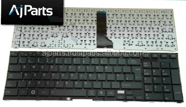 For Toshiba Tecra R850 R950 R960 series laptop keyboard US UK SP RU PO layout