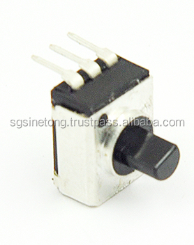Low-profile and good operational feel makes potentiometer excellent for lighting and car air conditioners