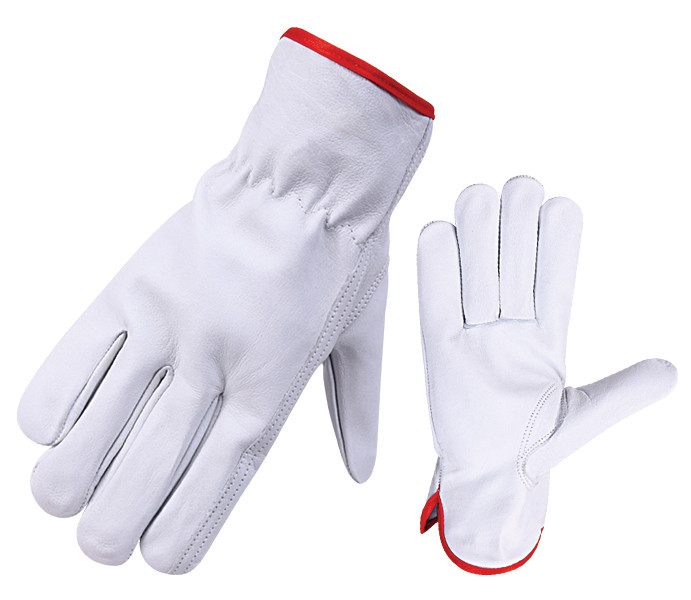 Grain Leather Driver Gloves
