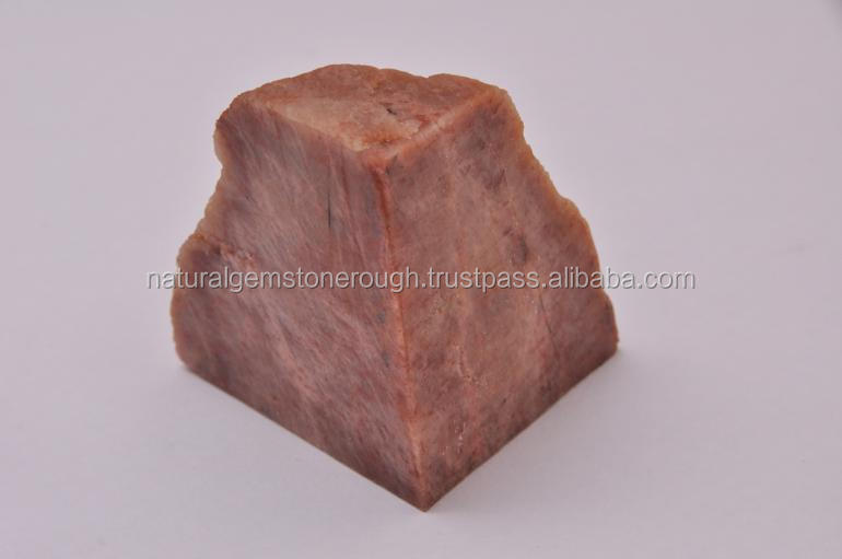 Natural orthoclase feldspar Orangish Brown raw material rock minerals direct from indian mines