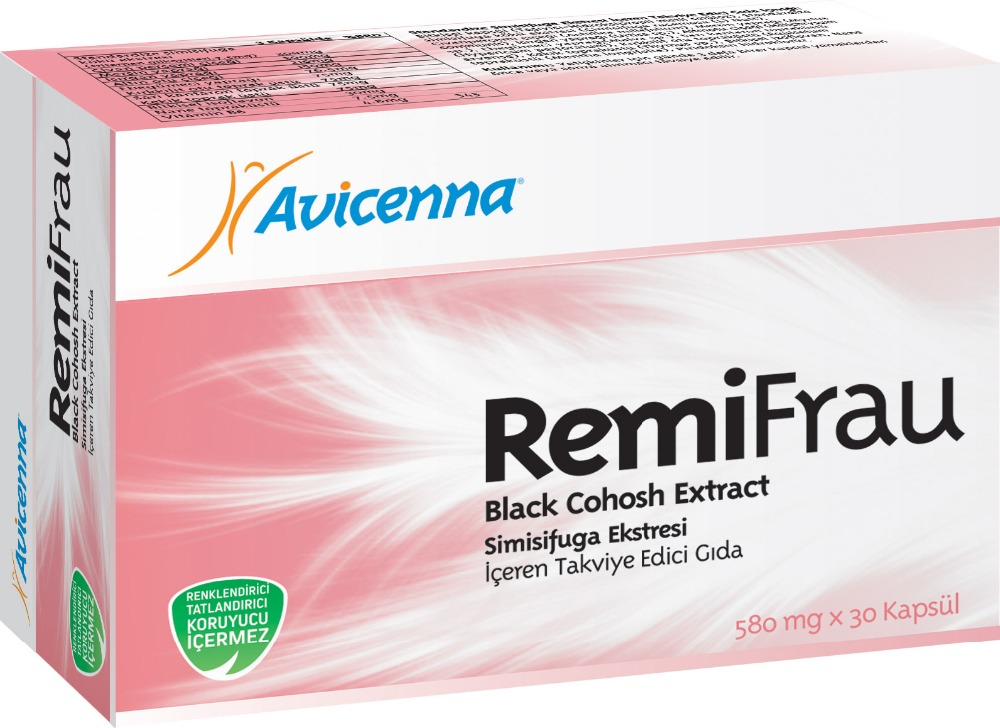 Remifrau for Ladies Delay Menopause Kill Menstrual Problems Black Cohosh Extract Vitamins and Supplements ...