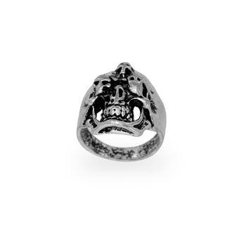 Jaipur Mart Wholesale Oxidised Rings Silver Plated Jewelry Stunning Skull Theme Design Finger Ring for Fashion Men