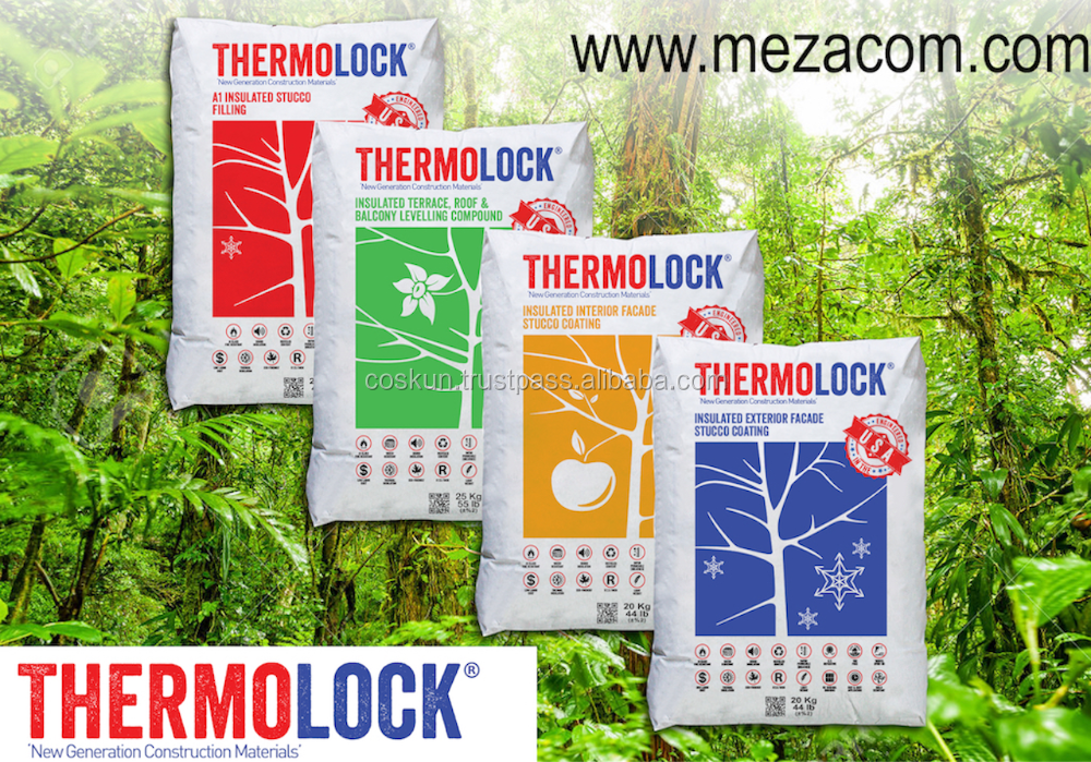 THERMOLOCK MULTIFUNCTIONAL INSUALTION STUCCO & COATINGS