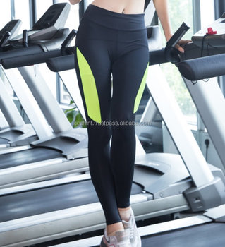 Sport Athletic Gym Workout Fitness Yoga Capri Compression Thermal Tights Ci-61