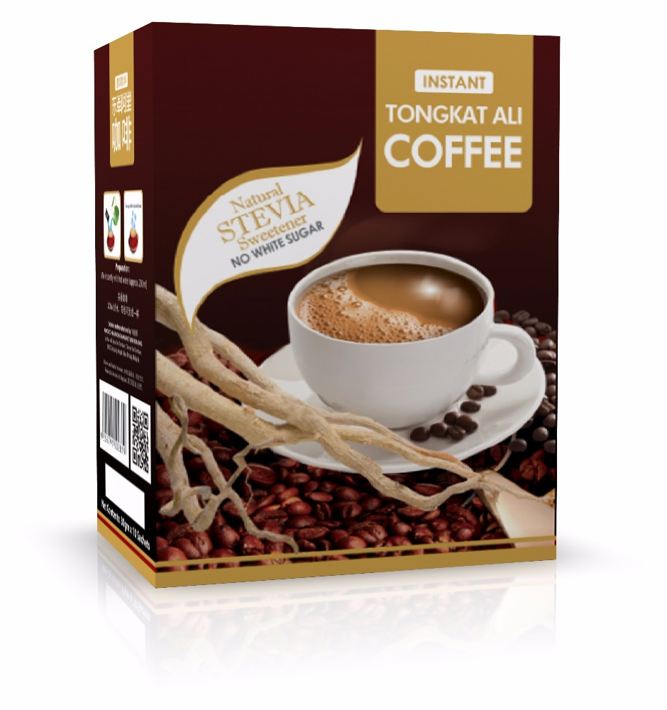 OEM your brand Tongkat Ali Coffee with Natural Stevia Sweetener