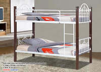 Wooden/Steel Double Decker Bed