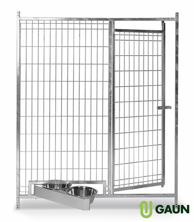 Mesh front with revolving feeder