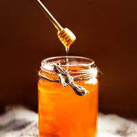100% nature raw acacia honey