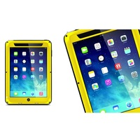 Powerful Sports Metal +Silicone Protective Case with Screen Protector for iPad Mini / iPad Mini 2