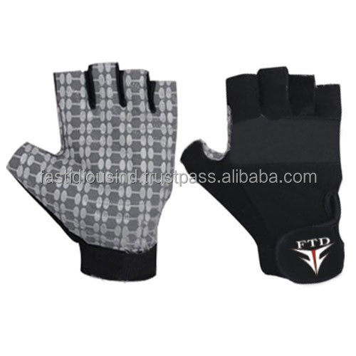Customized Weight Lifting Neoprene Paw Gloves/ Gym Wears for Heavy Weight