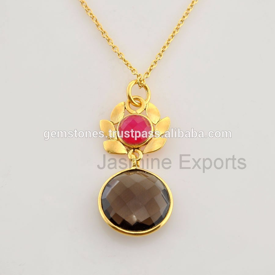 925 sterling silver multi gemstone necklace wholesale
