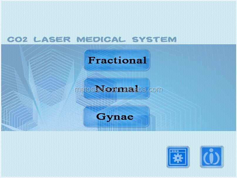 High power medical CO2 laser/ fractional CO2 laser/ CO2 fractional laser