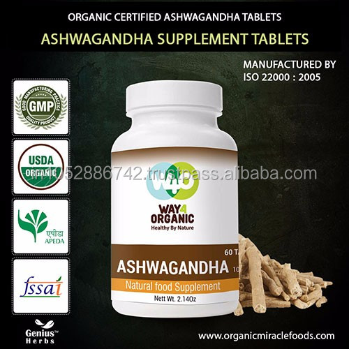 The Premium Quality Ashwagandha -Indian Ginseng Tablets For Export Sales