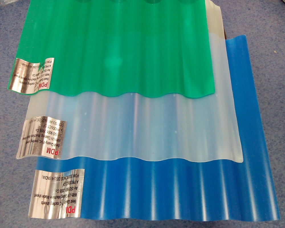 PVC Roofing G.I. Sheet