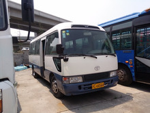 100% original Japan used Toyota coaster mini bus for sale