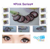 2016 GnG Dueba pink color contact lenses / wholesale / 2 colored eye contact lenses