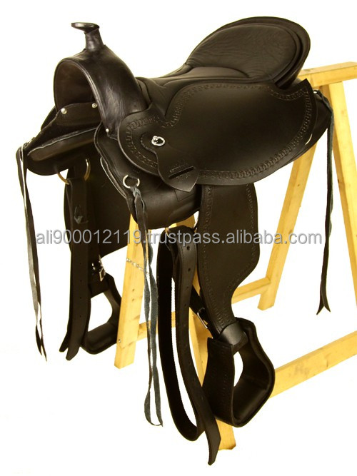 Western treeless barrel racing saddle Western saddle and tack