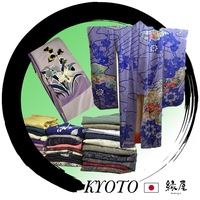"Fashionable dress up games for girls ""kimono"" with elegant patterns made in Japan"