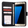 Real Leather ID Wallet Case Cover for Samsung Galaxy S7 Edge