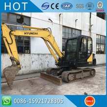 6 Ton R60-7 Hydraulic Excavator From South Korea Hyundai Used Excavator