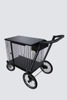 Crown Dog Show Trolley Transporter Cage Pet