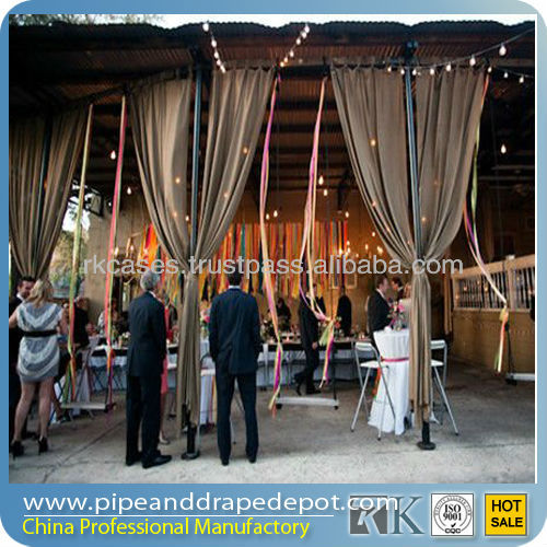 pipe and drape kits trade show exhibition booth