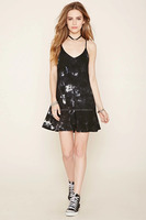 Girls Party Wear Sexy Looking Rayon Tie & Dye Short Spaghetti Dress With Net Back