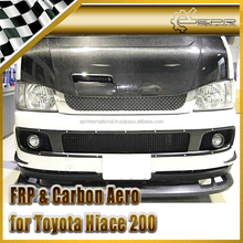 EPR - Carbon Fiber / FRP Fiber Glass For Toyota Hiace 200 Bonnet Hood Vented